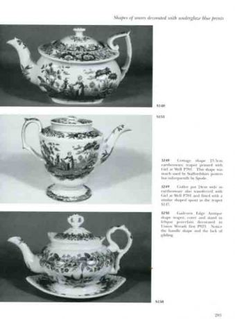 Spode. Transfer Printed Ware 1784-1833